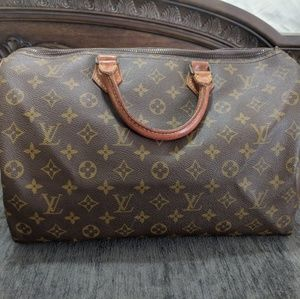 Authentic Vintage Louis Vuitton Speedy 35